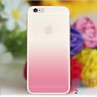 Назначение iPhone X iPhone 8 iPhone 8 Plus iPhone 6 iPhone 6 Plus Чехлы панели Прозрачный Задняя крышка Кейс для Градиент цвета Мягкий