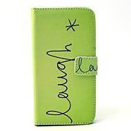 billige Galaxy S4 Etuier-For Samsung Galaxy etui Pung Kortholder Med stativ Etui Heldækkende Etui Andet Hårdt Kunstlæder for SamsungS6 edge S6 S5 Mini S5 S4 Mini
