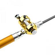 お買い得  釣り用アクセサリー-釣り竿 ペン型釣り竿 ペン型釣り竿 メタル 一般的な釣り 釣り竿 + リール