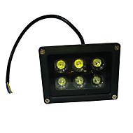 6W LED 투광 조명 회전 가능 6 고성능 LED 660 lm UV (블랙라이트) AC 85-265 V 1개