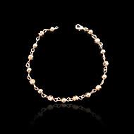 Narukvice Gipke i čvrste narukvice Pozlaćeni Vjenčanje / Party / Dnevno / Kauzalni / Sport Jewelry Poklon Rose Gold,1pc