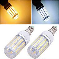 お買い得  LED コーン型電球-1200 lm E14 LEDコーン型電球 T 69LED LEDの SMD 5050 温白色 クールホワイト AC 220-240V