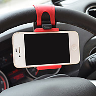 Phone Holder Stand Mount Car Steering Wheel Adjustable Stand Plastic for Mobile Phone