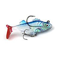 お買い得  釣り用アクセサリー-ソフトベイト ルアー 釣りフック フィッシング - 1 個 メタル シリコン - 海釣り ベイトキャスティング 川釣り 流し釣り/船釣り 一般的な釣り ルアー釣り