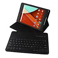 お買い得  タブレット用アクセサリー-ケース 用途 Google キーボード付きケース フルボディーケース ハード PUレザー のために