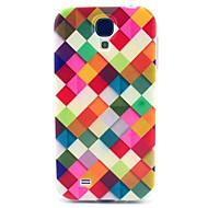 お買い得  携帯電話ケース-ケース 用途 Samsung Galaxy Samsung Galaxy ケース パターン バックカバー 幾何学模様 TPU のために S4 Mini