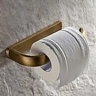 hesapli Banyo Gereçleri-Tuvalet Kağıdı Tutacağı Antik Pirinç 1 parça - Otel banyo