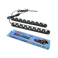 voordelige Overige LED-Lampen-E26/E27 Sierlampen 8 leds Krachtige LED Decoratief Koel wit 1200lm 6000-6500K DC 12 DC 24V