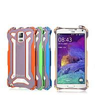 Недорогие Чехлы и кейсы для Galaxy Note-Кейс для Назначение SSamsung Galaxy Samsung Galaxy Note7 Защита от удара Кейс на заднюю панель броня Твердый Металл для Note 7 Note 5