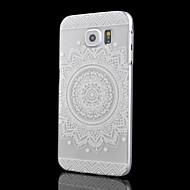 Para Funda Samsung Galaxy Transparente Funda Cubierta Trasera Funda Mandala Policarbonato Samsung S6 edge plus / S6 edge / S6