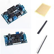 お買い得  Arduino 用アクセサリー-電圧メーター表示やアクセサリーとLM2596 DC-DC調整可能なステップダウンモジュール