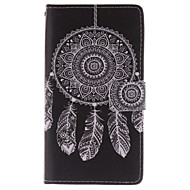 """Для Samsung Galaxy Note Кошелек / Бумажник для карт / со стендом / Флип Кейс для Чехол Кейс для Рисунок """"Ловец снов"""" Искусственная кожа"""