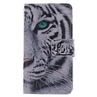 Недорогие Чехлы и кейсы для Galaxy Ace 4-Для Кейс для  Samsung Galaxy Бумажник для карт / со стендом / Флип / С узором Кейс для Чехол Кейс для Животный принт Искусственная кожа