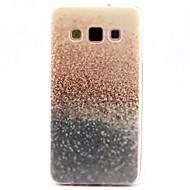 Недорогие Чехлы и кейсы для Galaxy А-Кейс для Назначение SSamsung Galaxy Кейс для  Samsung Galaxy С узором Кейс на заднюю панель Градиент цвета ТПУ для A3