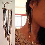 お買い得  -女性用 レイヤード 耳の袖口 - タッセル, パンク, 欧風 用途 パーティー / 日常