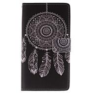 Mert Samsung Galaxy Note Pénztárca / Kártyatartó / Állvánnyal / Flip Case Teljes védelem Case Álomvadász Műbőr Samsung Note Edge