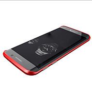 hoesje Voor Samsung Galaxy Samsung Galaxy hoesje Schokbestendig Bumper Effen Kleur Metaal voor S6 edge