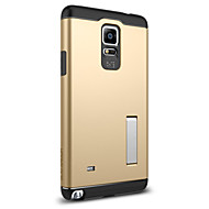 Için Samsung Galaxy Note Şoka Dayanıklı / Satandlı Pouzdro Arka Kılıf Pouzdro Zırh PC Samsung Note 4