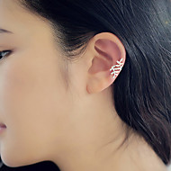Women's Stud Earrings Ear Cuff - Ladies Jewelry Silver / Golden For Daily Casual