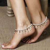 Dames Lichaamssieraden Enkelring  Body Chain / Belly Chain Uniek ontwerp Modieus Kostuum juwelen Parel Sieraden Sieraden Voor Dagelijks