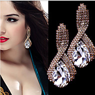 Women's Rhinestone Drop Earrings - For Wedding Party Daily Casual Sports
