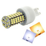 お買い得  LED コーン型電球-500-600 lm G9 LEDコーン型電球 T 144 LEDの SMD 3528 温白色 クールホワイト AC 220-240V