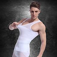 Men Slimming Underwear Body Shaper Vest Waist Coat Shirt Firm Tummy Belly Chest