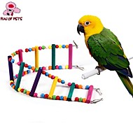 Ptak Żerdzie i Drabinki Plastik Wood Wielokolorowy