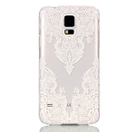 billige Etuier til Samsung-Etui Til Samsung Galaxy Samsung Galaxy etui Transparent Bagcover Blonde Tryk PC for S6 edge S6 S5 Mini S5 S4 Mini S3 Mini