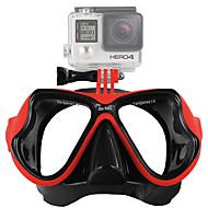 Masques de Plongée Fixation Pour Caméra d'action Tous Gopro 5 Gopro 4 Silver Gopro 4 Gopro 4 Black Gopro 4 Session Gopro 3 Gopro 2 Gopro