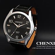 CHENXI® Muškarci Ručni satovi s mehanizmom za navijanje Kvarc Japanski kvarc Koža Grupa Crna