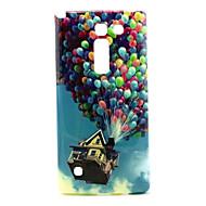 Voor LG hoesje Hoesje cover Patroon Achterkantje hoesje Balloon Zacht TPU voor LG LG Spirit / LG C70 H422