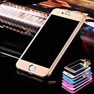 Недорогие Модные популярные товары-Защитная плёнка для экрана для Apple iPhone 6s / iPhone 6 Закаленное стекло 1 ед. Защитная пленка для экрана Взрывозащищенный