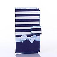 Για Samsung Galaxy Θήκη Θήκες Καλύμματα Θήκη καρτών Πορτοφόλι με βάση στήριξης Ανοιγόμενη Πλήρης κάλυψη tok Γραμμές / ΚύματαΣυνθετικό