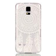 Недорогие Чехлы и кейсы для Galaxy S-Кейс для Назначение SSamsung Galaxy Кейс для  Samsung Galaxy Прозрачный Кейс на заднюю панель Ловец снов ПК для S6 edge S6 S5 Mini S5 S4