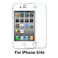 Недорогие Защитные плёнки для экрана iPhone-Защитная плёнка для экрана Apple для iPhone 6s iPhone 6 Закаленное стекло 1 ед. Защитная пленка для экрана Взрывозащищенный Уровень
