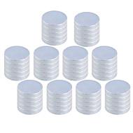お買い得  おもちゃ & ホビーアクセサリー-磁石玩具 ブロックおもちゃ / ネオジムマグネット / 超強力レアアース磁石 50pcs 10*2 mm 磁石 磁石バックル 成人 ギフト