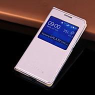Оригинальный вид кожи PU окно Smart Auto-сон Полный Дело орган для Samsung Galaxy основной премьер g360 g3606 g3608