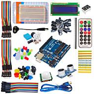 お買い得  Arduino 用アクセサリー-ArduinoのUNO R3 1602lcdスイートarduinoのための