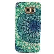 billige Galaxy S5 Mini Etuier-For Samsung Galaxy etui Mønster Etui Bagcover Etui Mandala-mønster TPU for Samsung S6 edge S6 S5 Mini S5 S4 Mini S4 S3 Mini S3