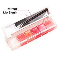 billige -Lipgloss Våt Glans Gele Glitter glans (gloss) Farget glans Fukt