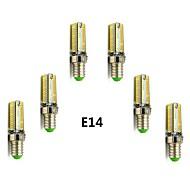 Χαμηλού Κόστους LED Φώτα με 2 pin-400-450lm E14 G9 LED Λάμπες Καλαμπόκι T 104 LEDs SMD 3014 Θερμό Λευκό Ψυχρό Λευκό 2800-3000/6000-6500K AC 220-240V