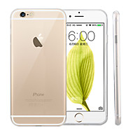 Pouzdro Uyumluluk Apple iPhone 6 Plus / iPhone 6 Ultra İnce / Şeffaf Arka Kapak Solid Yumuşak Silikon için iPhone 6s Plus / iPhone 6s / iPhone 6 Plus