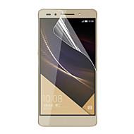 お買い得  スクリーンプロテクター-スクリーンプロテクター Huawei のために Huawei Honor 7 PET 1枚 超薄型