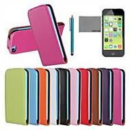 Недорогие Кейсы для iPhone 8 Plus-Кейс для Назначение iPhone 5c Apple iPhone 8 iPhone 8 Plus Чехол Твердый Настоящая кожа для iPhone 8 Pluss iPhone 8 iPhone 5c