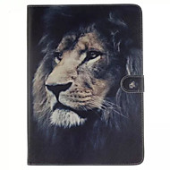 For Samsung Galaxy Case Card Holder / Wallet / with Stand / Flip / Pattern Case Full Body Case Animal PU Leather SamsungTab 4 10.1 / Tab