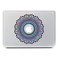 κυκλική λουλούδι 25 διακοσμητικό αυτοκόλλητο δέρμα για MacBook Air / Pro / Pro με οθόνη Retina