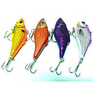 """4 szt Bait Metal Wibracja Návnady Wibracja Przynęta metalowa g/Uncja mm/2-3/4"""" cal,Metal Sea Fishing Wędkarstwo słodkowodne Fishing Lure"""