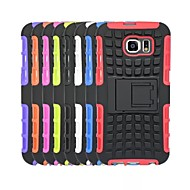 billige Galaxy S4 Etuier-For Samsung Galaxy etui Stødsikker Etui Bagcover Etui Armeret PC for Samsung S6 edge S6 S5 S4 S3 S