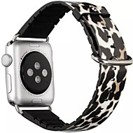 Reloj de la venda para el reloj de la manzana 38m m 42m m pulsera de cuero clásica del reemplazo de la hebilla